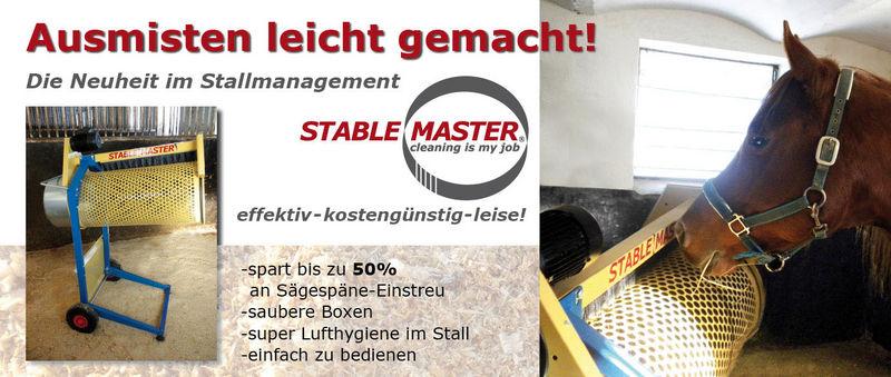 stable master. Black Bedroom Furniture Sets. Home Design Ideas